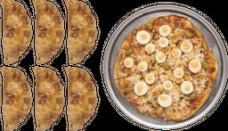 Pizza Especial + 6 Empanadas