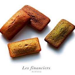 Financier Chocolat con Ganache