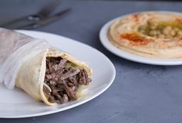 2 Falafel Wrap & Puré de Garbanzo