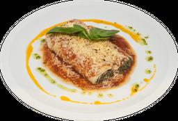 Canellonni Verdura, Mozzarella e Ricotta al Pomodoro