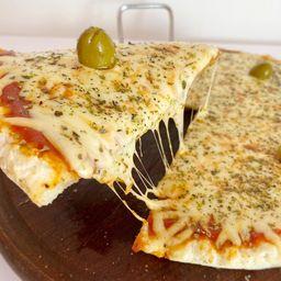 Pizza Individual Mozzarella + Morrón