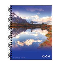 Cuaderno Avon Con Espiral A5 Tapa Flexible Cuadriculado 84 Hojas