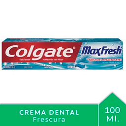Crema Dental Colgate Max Fresh Complete Clean 100 mL
