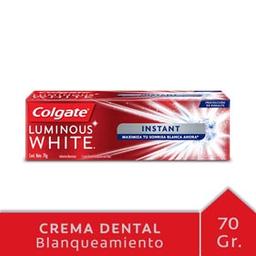 Crema Dental Colgate Luminous White Instant 70 g
