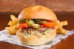 Burger Mandril