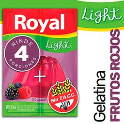 Royal Gelatina Light Frutos Rojos