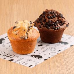 Dúo de Muffins Nucha