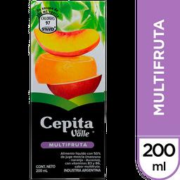 CEPITA MULTIFRUTA TETRAPACK 200 ML