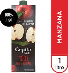 Jugo  Cepita Manzana Brick x 1 L