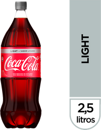 Gaseosa Coca Cola Light 2.5 L