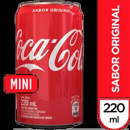 Gaseosa Coca Cola 220 mL
