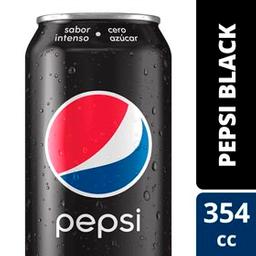 Gaseosa Pepsi Black 354Ml