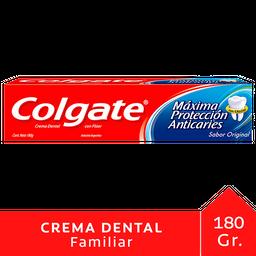 Crema Dental Colgate Máxima Protección Anticaries 180 g