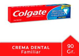 Crema Dental Colgate Máxima Protección Anticaries 90 g