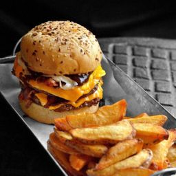 Combo Burger Doble Ternera
