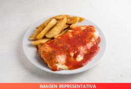 Milanesa de Ternera Napolitana