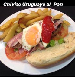 Chivito Uruguayo al Pan