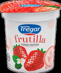 Yogurt Entero Tregar Con Frutilla 160 Gr