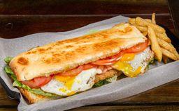 Sándwich de Milanesa para Compartir