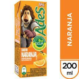Jugo Ades Naranja 200 mL