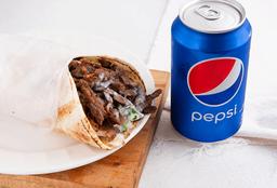 Shawarma de Carne en Combo