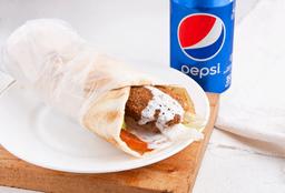 Falafel Sándwich en Combo