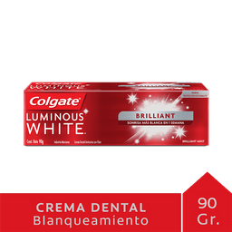 Crema Dental Colgate Luminous White 90 g