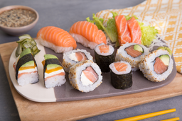 Sushi Salmón Premium X 12