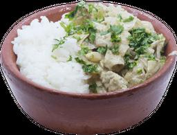 Curry Indio Blanco del Sur de India + Gaseosa
