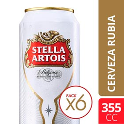 Cerveza Stella Artois Lata 355 mL