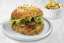 Combo Burger de Pollo