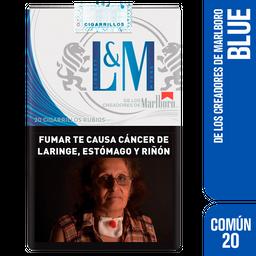 L & M Blue Label Cigarrillos Ks Sof 20