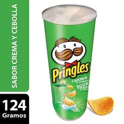Papas Fritas Pringles Crema Y Cebolla 124 g