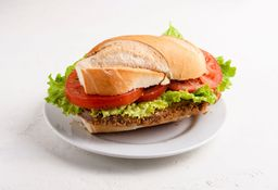 Sándwich de Milanesa & Lechuga