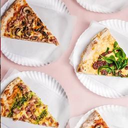 3 Slices de Pizza XL & Fainá