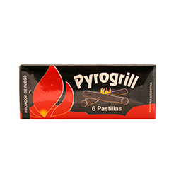 Pastillas Encendido Pyrogrill X 6 Un