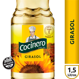 Cocinero Aceite Girasol