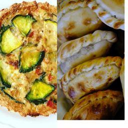 Promo Tarta Zapallito y Empanadas de Pollo