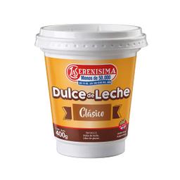 Dulce De Leche La Serenísima Clásico 400 Gr