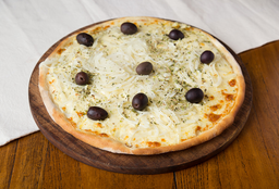 Pizza Americana, Mozzarella y Cebolla