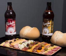 Picada Tradicional para 4 & Cerveza