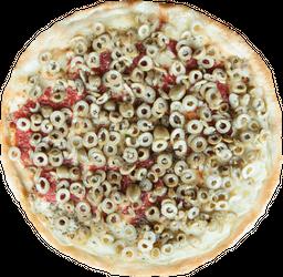 Mozzarella y Aceitunas Picadas