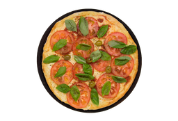 Pizza Mozzarella y Rúcula Fresca