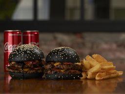 Combo Burger Rockstar x 2