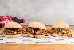 Combo Burger Classic x 3