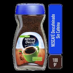 Nescafé Cafe Decaf Puro