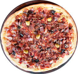 Pizza Mozzarella y Panceta