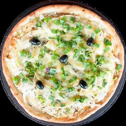 Pizza Americana, Verdeo y Provolone