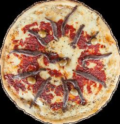 Mozzarella y Anchoas