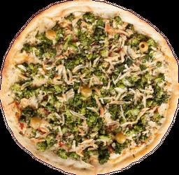 Mozzarella y Brócoli Gratinado